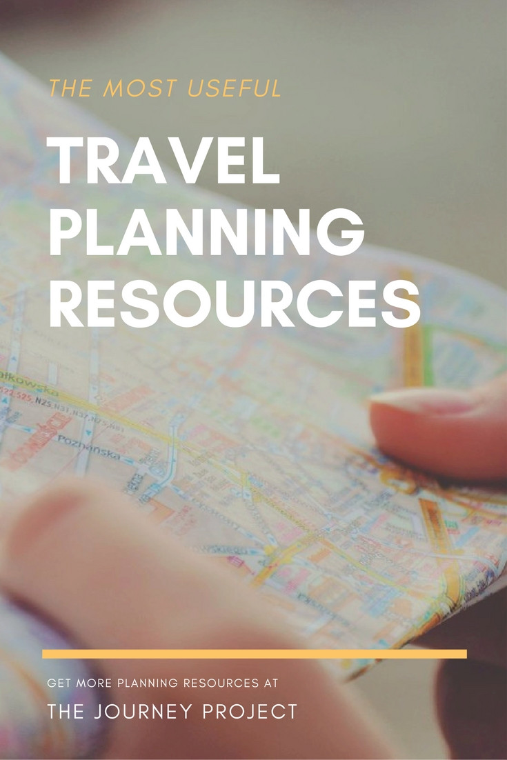 The Most Useful Travel Planning Resources | I used to avoid planning, but I've realized I travel best with some planning and research before I go. Here are my favorite pre-trip planning resources!
