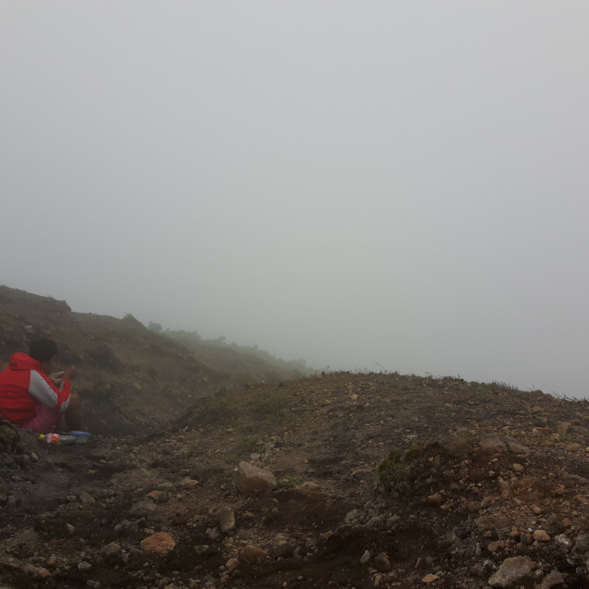 View at the top from hiking Concepción, Ometepe Island