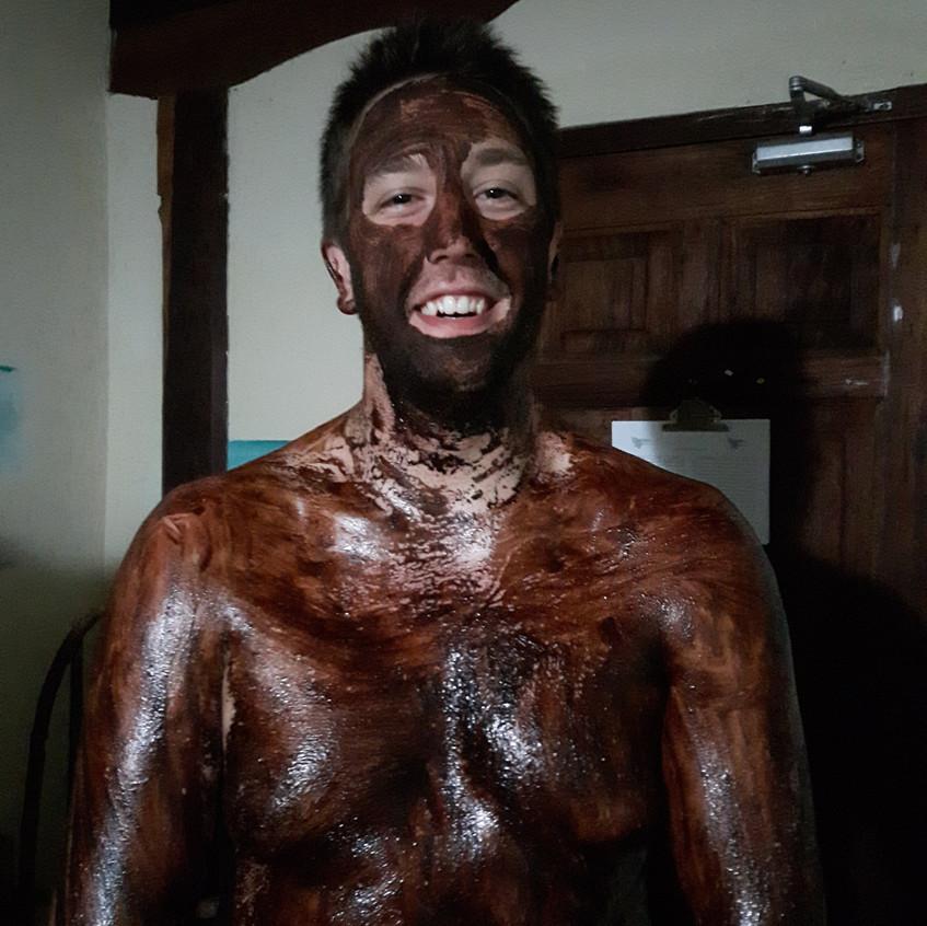 Chocolate massage at Choco Spa & Cacao Pool Club