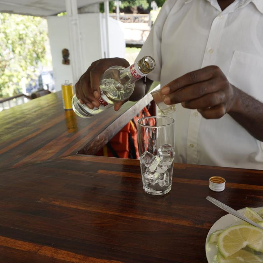 Livingstone Zambezi River Cruise Open Bar Cocktail