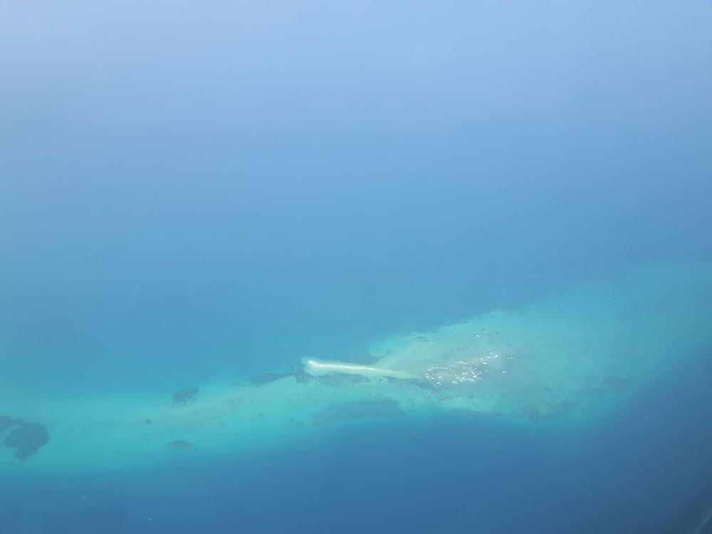 Indian Ocean turquoise water in Zanzibar
