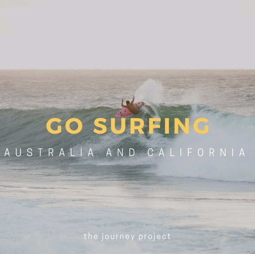 Surf in Australia and Cali