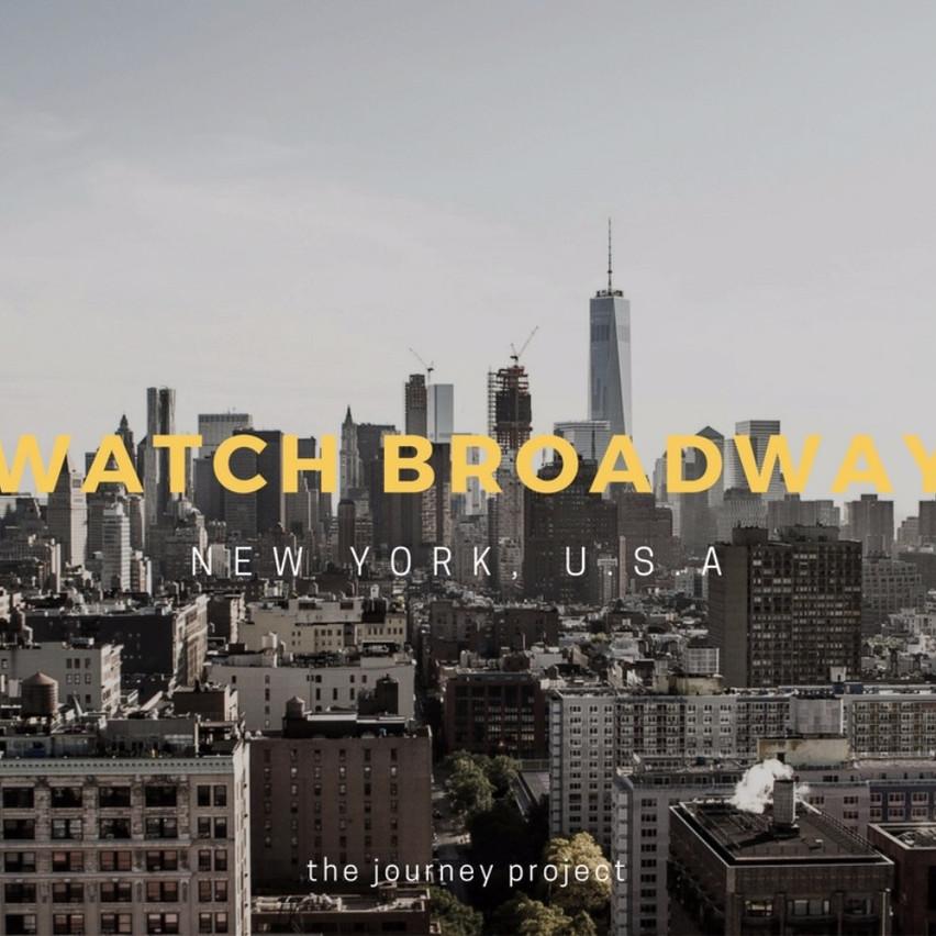 Watch Broadway in New York
