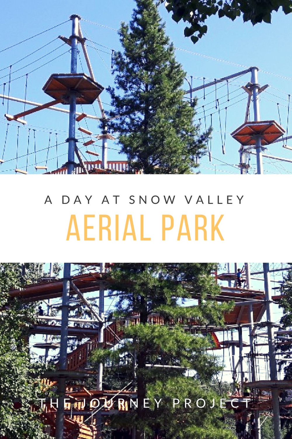 A Day At Snow Valley Aerial Park | There are obstacle courses in the air. If that doesn't set your adventurous heart pumping, then maybe you didn't hear me right. Obstacle courses. In the air.