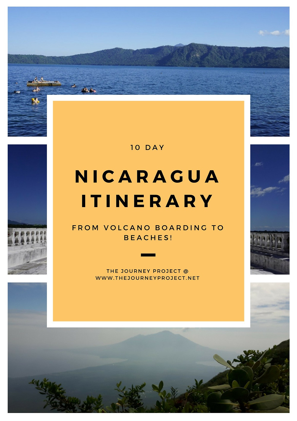 10 Day Nicaragua Itinerary | Have you thought about going to Nicaragua? If you haven't, then now is the time to start. If you have, then you'll want to see our 10 day itinerary!