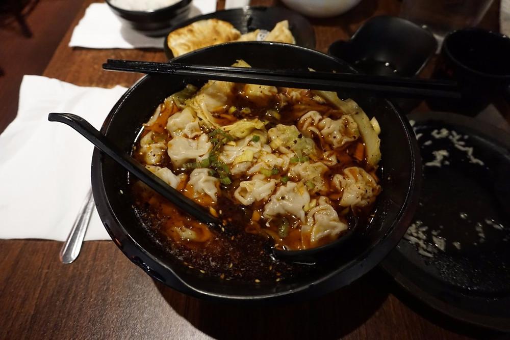 Wonton from Chong Qing Xiao Mian