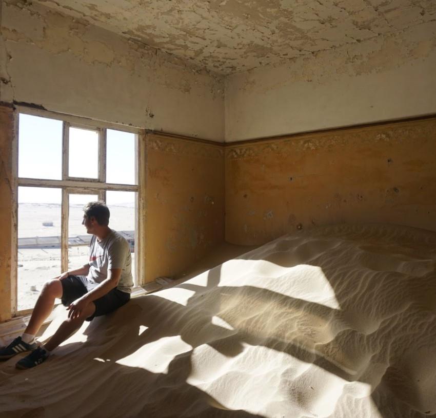 Kolmanskop diamond mining ghost town