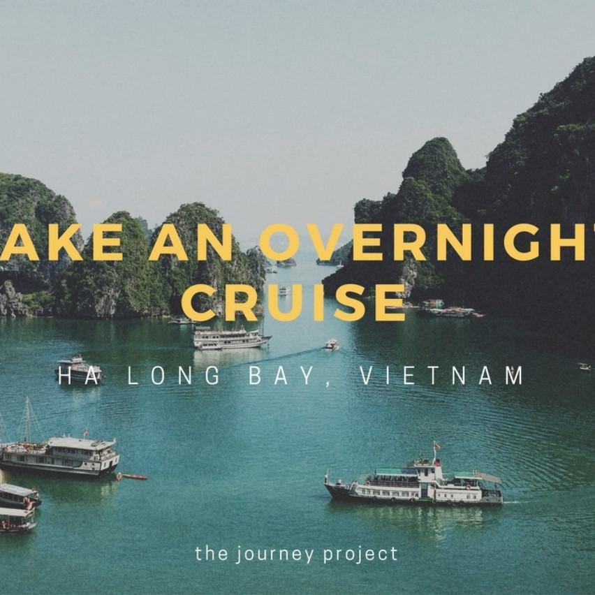 Take an Overnight Cruise in Vietnam