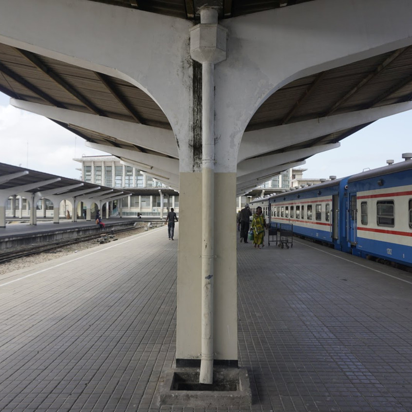 Dar Es Salaam Train Station, Tanzania