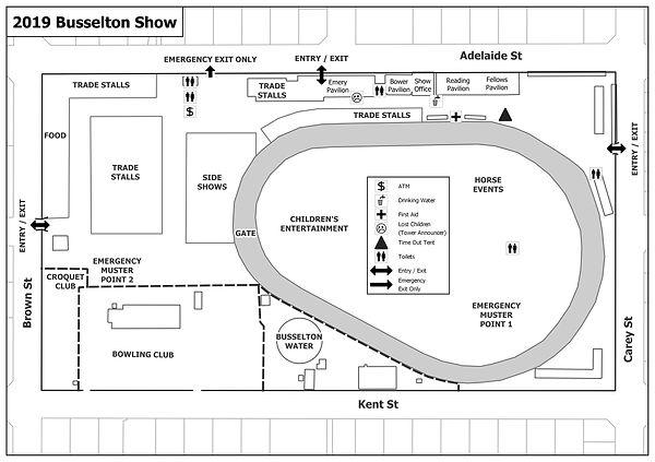 Busselton Show 2019 Public Map A5L v5.jp