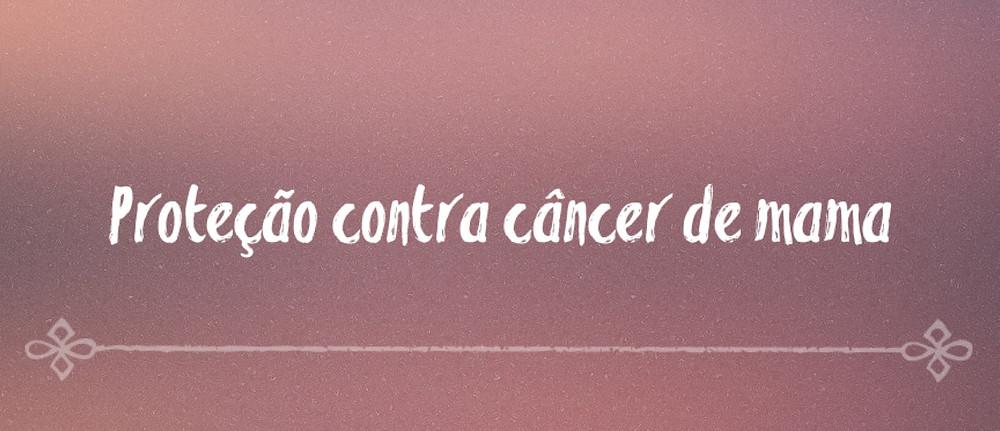 Amamentar protege contra o câncer de mama