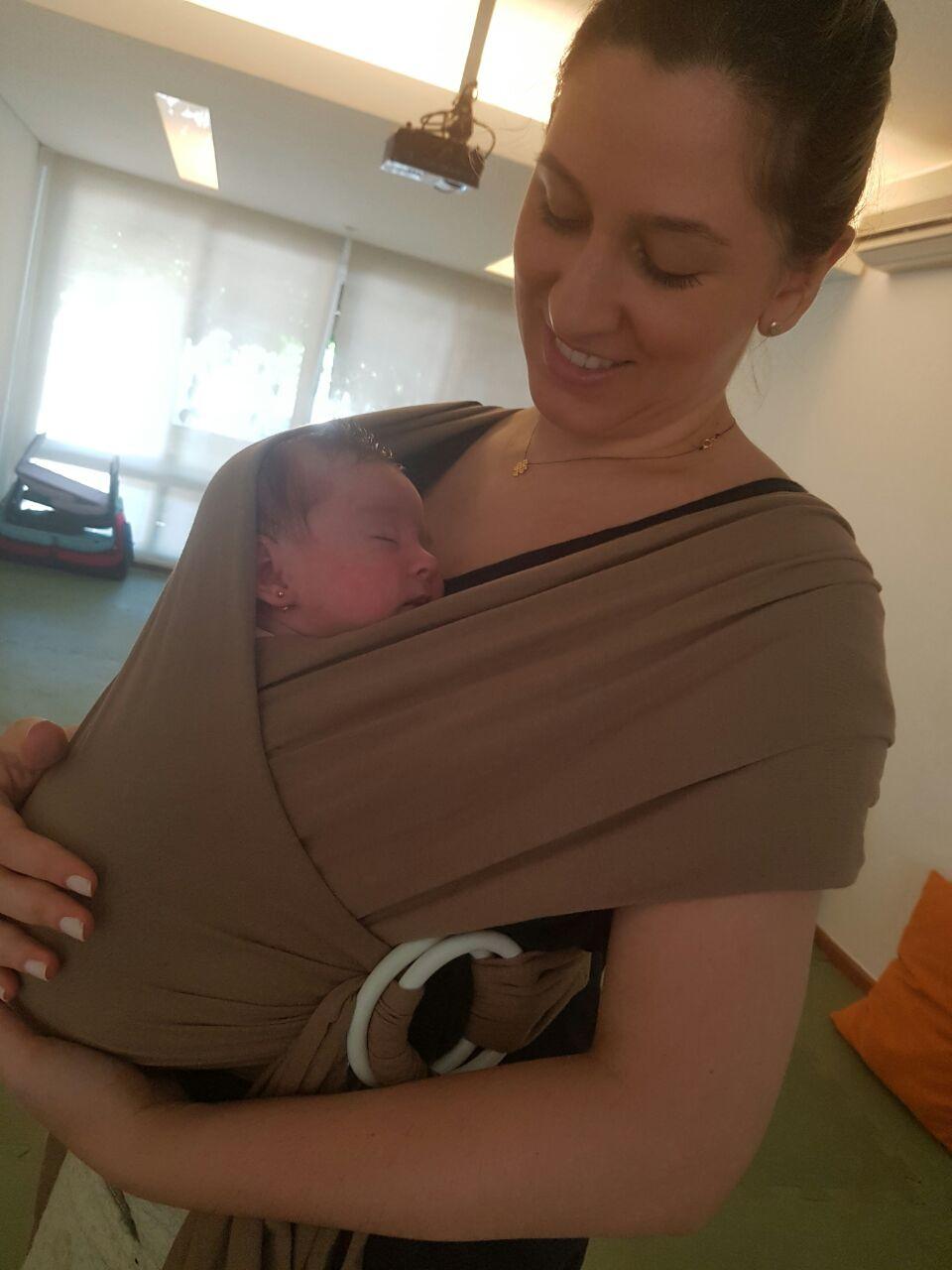 Sampa Cruz Envolvente para bebês prematuros