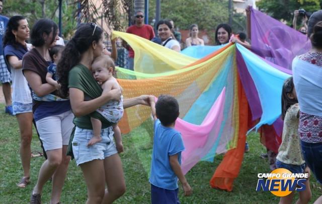 Dança Materna no Campo Grande News