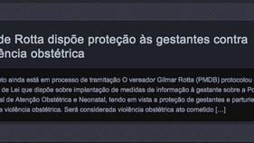 PL de Rotta dispõe proteção às gestantes contra violência obstétrica