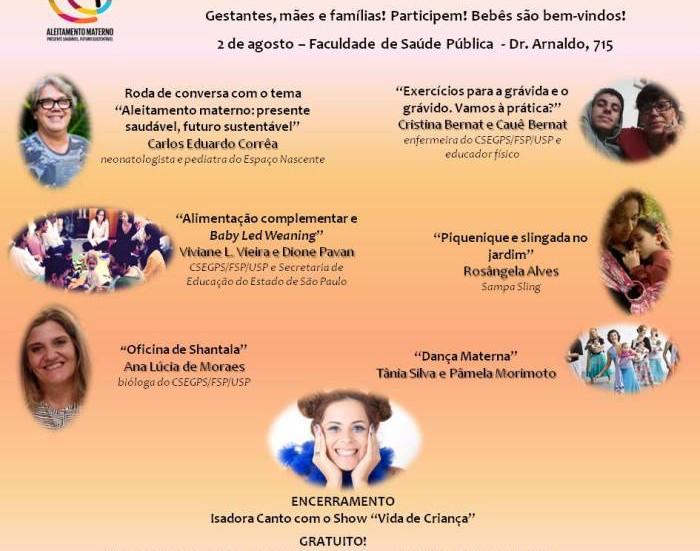 Dança Materna no II Encontro para a Promoção, Proteção e Apoio à Amamentação