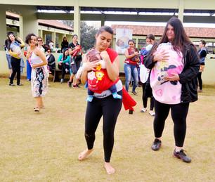 Hora do Mamaço em Mogi das Cruzes com a Dança Materna