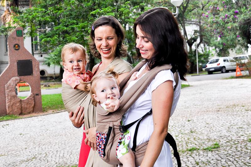 Cinco coisas que talvez você não saiba sobre babywearing