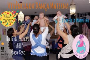 Dança Materna na  Virada Educação em Santos, SP
