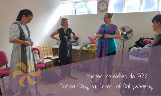 O que aprendemos na School of Babywearing de Londres sobre a Displasia de Quadril