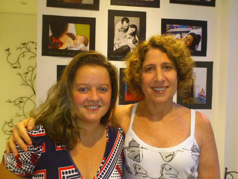 Daniela Andretto e Maiana Rappaport, psicólogas da Casa Moara