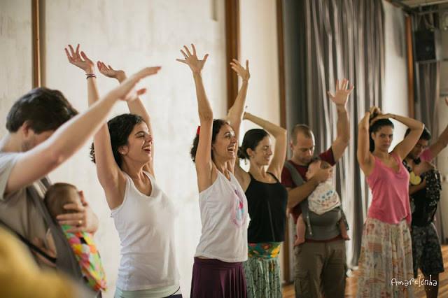 Aula da Dança Materna no Rio de Janeiro