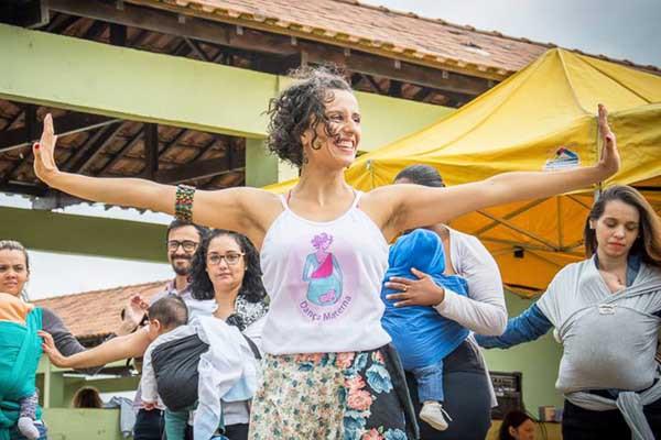 Dança Materna no Diário de Mogi