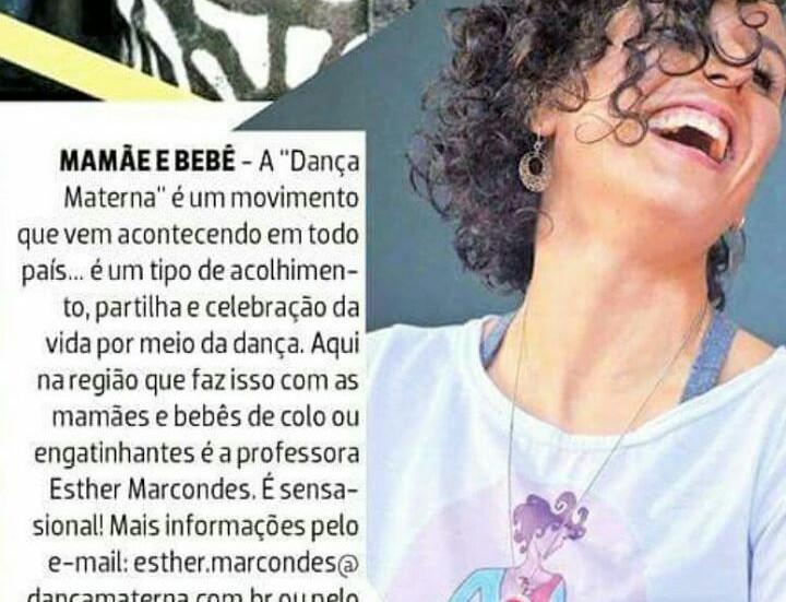 Dança Materna no Diário de Suzano