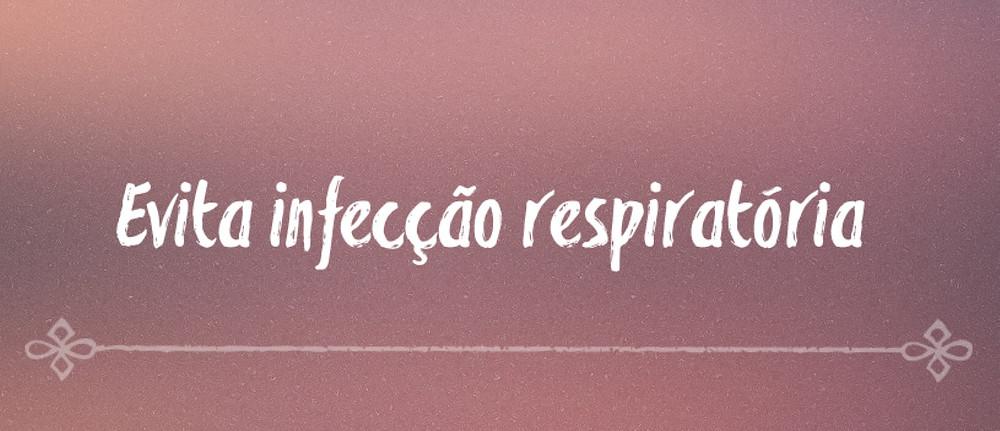 Amamentar evita infecção respiratória