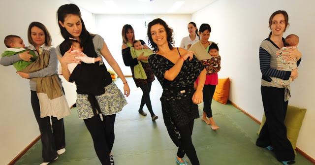 Aula da Dança Materna com Tatiana Tardioli