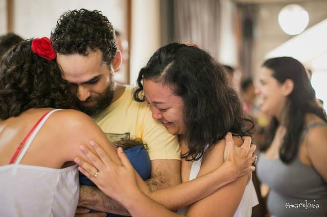 Aula da Dança Materna no RJ