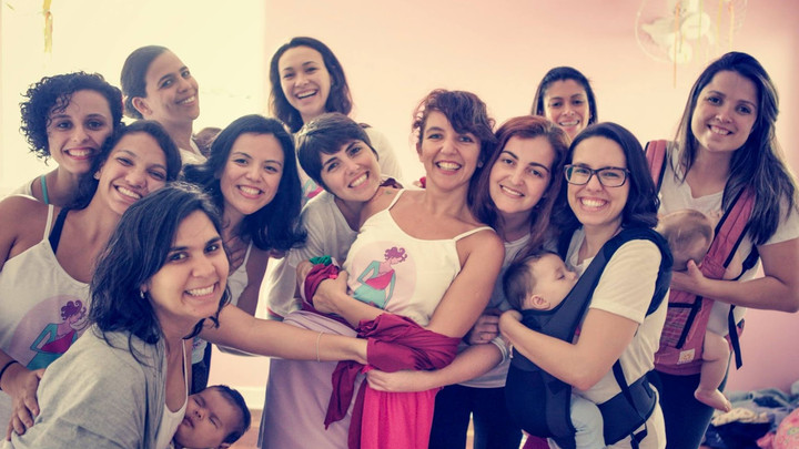 Novas professoras da Dança Materna pelo Brasil