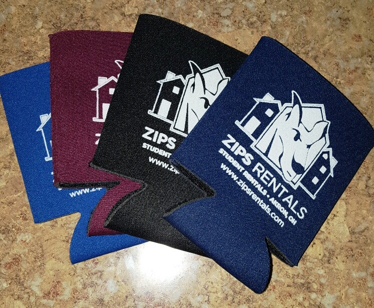 New an koozie marketing piece, available in 4 colors.