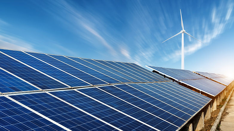 Photovoltaic power plants and remote win