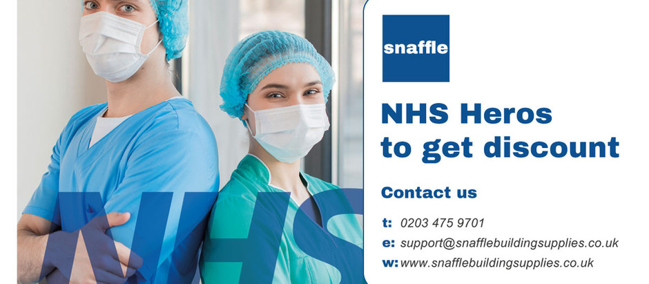 NHS Heros to get discounts at Snaffle Building Supplies