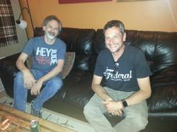 Gabe & Myron just sittin'