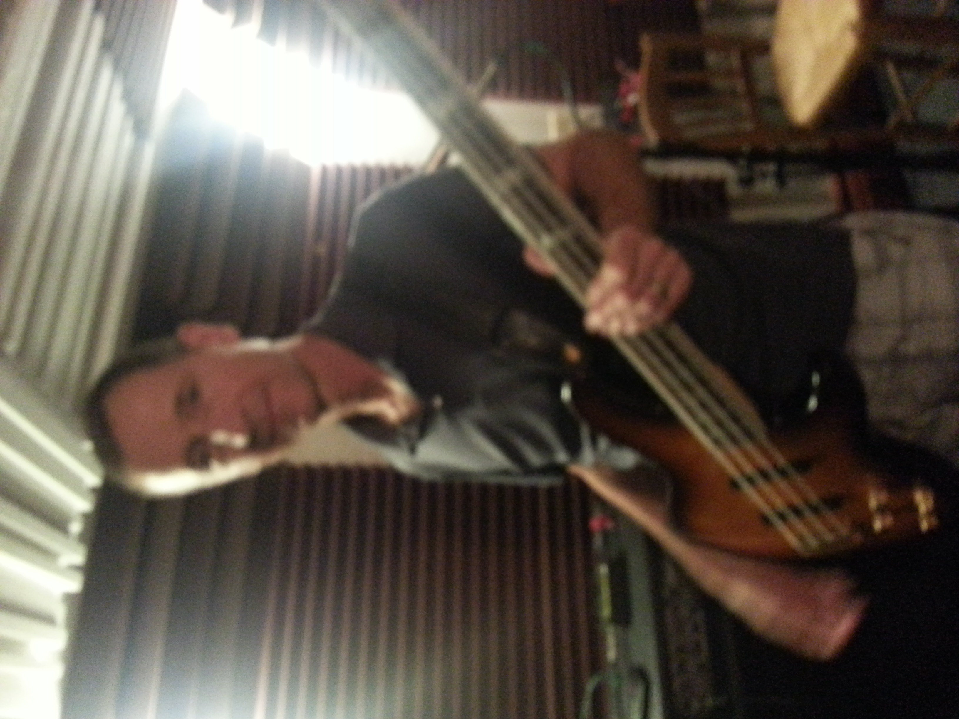Johnny K on Bass