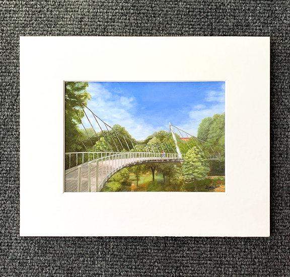 Print w/ Mat - Liberty Bridge