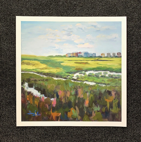 Print - Just Over the Marsh