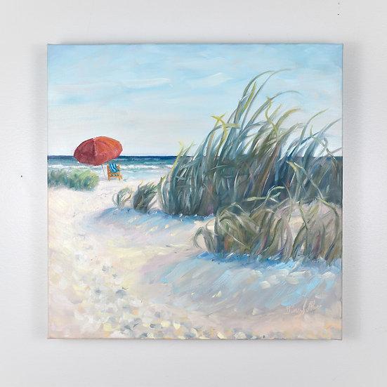 Freedom Awaits  16 x 16 Oil on canvas