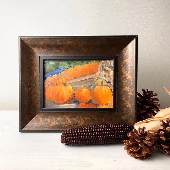 Swamp Rabbit Pumpkins   7 x 5
