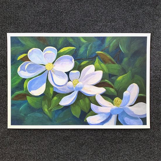 Dancing Magnolias - Print