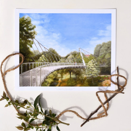 Print Liberty Bridge