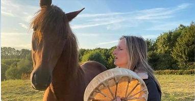 meditatie met paarden en tambour