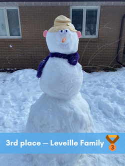 3rd place — Leville Family (2)