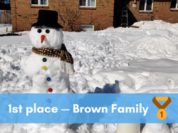 1st place — Brown Family (1)