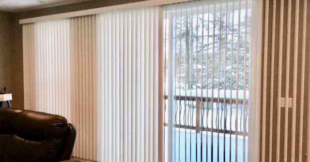 Vertical Blinds For Large Windows