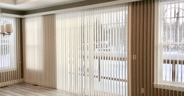 Verticals On A Window Wall