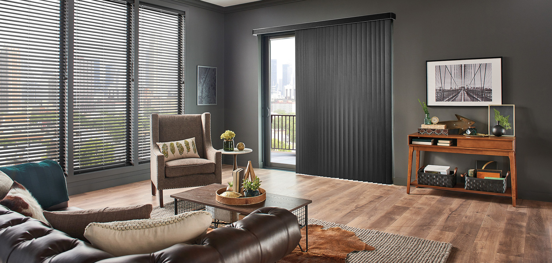Graber Vertical Vinyl Blinds