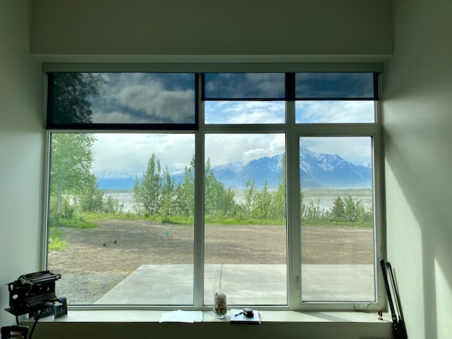 Roller Shades With Minimal Valance