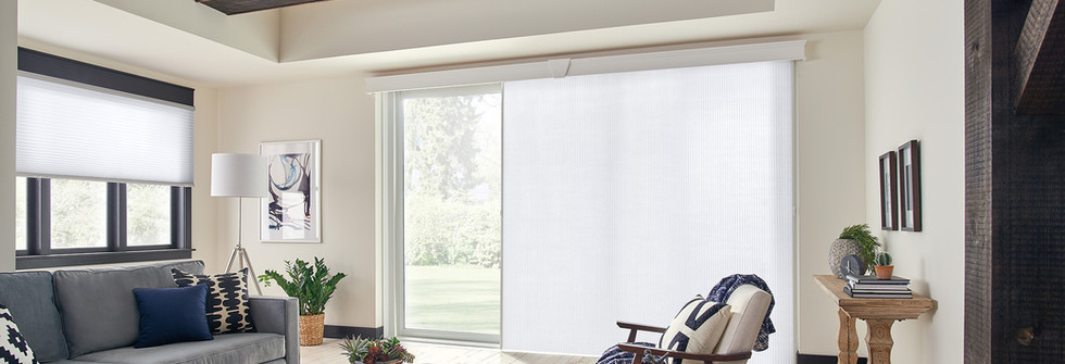 Graber Slideview Shade With Noble Cornice